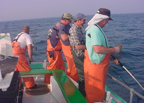 2016 fishing season for Deep sea fishing maine